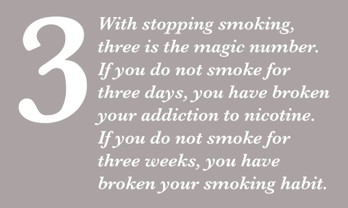 3 Stop smoking, Daniel Fryer