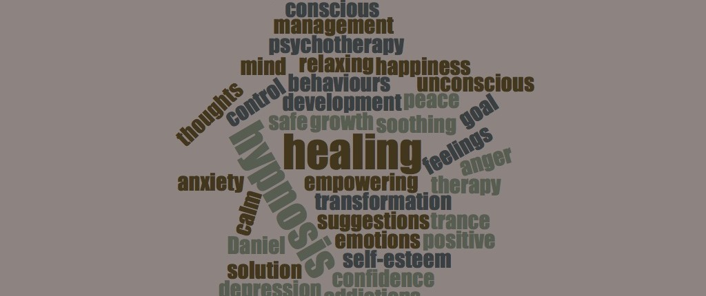 wordcloud 1024x430 Clinical Hypnotherapy, Daniel Fryer