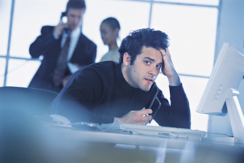 work stress Work Stress, Daniel Fryer
