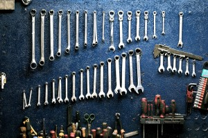 garage hanging mechanic 162553 300x199 - Think of a Therapist as a Mechanic for your Mind